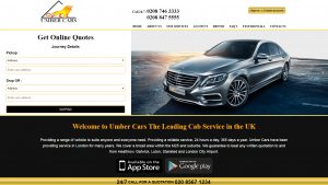 umber-cars-website